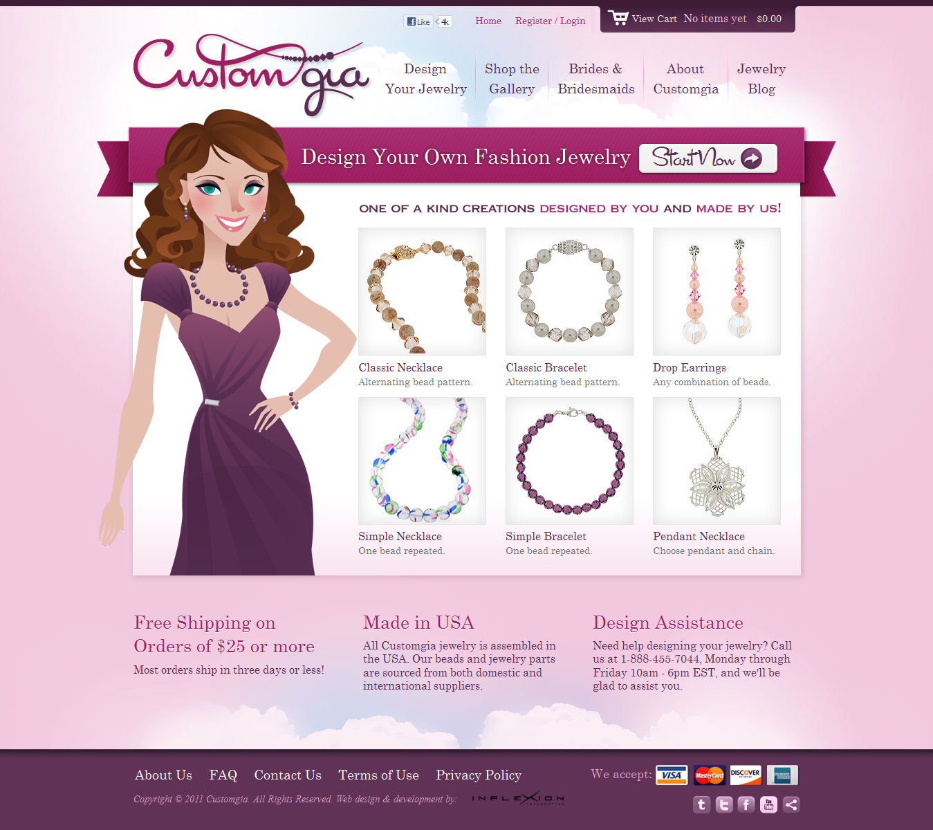 New Site Launch: Design Your Own Jewelry On CustomGia.com